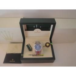 Rolex replica datejust acciaio d-blue oyster orologio replica copia