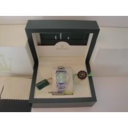 Rolex replica pearlmaster oro bianco blu yellow bezel orologio replica copia
