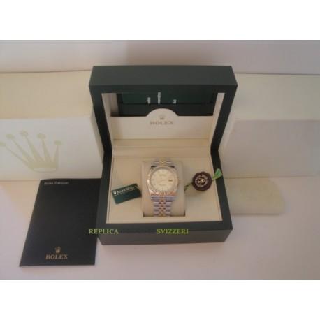 Rolex replica datejust acciaio oro gold barrette jubilèè orologio replica copia