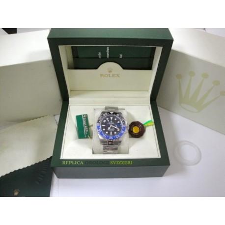 Rolex replica GMT master II ceramichon nero blue batman orologio replica copia