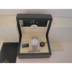 Rolex replica datejust acciaio white brillantini jubilèè orologio replica copia