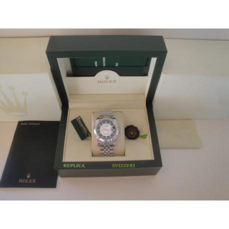 Rolex replica datejust acciaio bicolor black jubilèè orologio replica copia