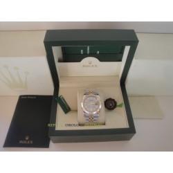 Rolex replica datejust acciaio oro grey dial jubilèè orologio replica copia