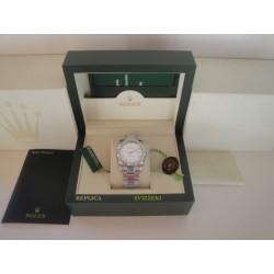 Rolex replica datejust acciaio madreperla roman oyster orologio replica copia