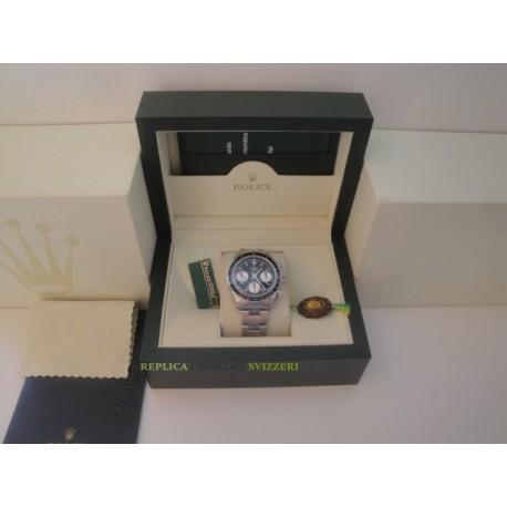 Rolex replica daytona vintage paul newman 6263 black dial orologio replica copia