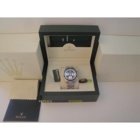 Rolex replica daytona vintage paul newman 6245 black dial orologio replica copia