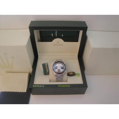 Rolex replica daytona vintage paul newman 6245 white dial orologio replica copia
