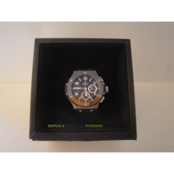 Hublot replica big bang ceramic titanium pro-hunter pvd strip rubber orologio replica copia