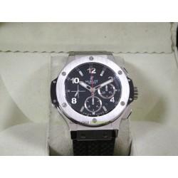 Hublot replica big bang titanium acciaio bezel strip rubber orologio replica copia
