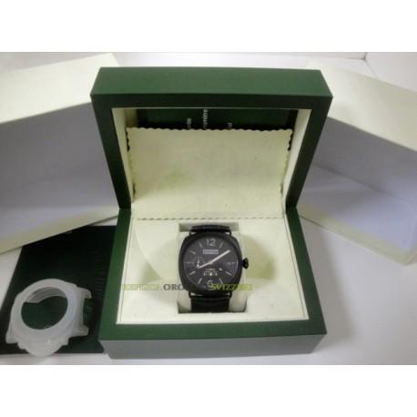 Panerai replica radiomir 8 days PVD pro-hunter ceramic strip leather orologio replica copia