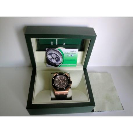 Audemars Piguet replica royal oak offshore gommino rose gold classic chrono orologio replica copia