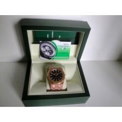 Audemars Piguet replica royal oak jumbo rose gold black dial orologio replica copia