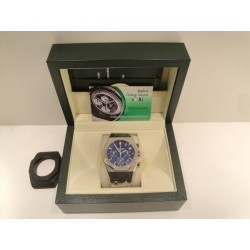 Audemars Piguet replica royal oak offshore leo messi acciaio blue dial chrono orologio replica copia