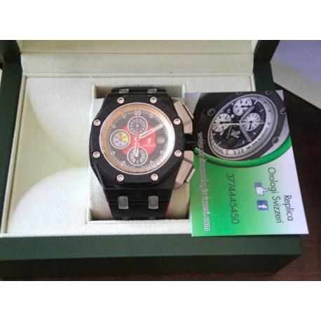 Audemars Piguet replica royal oak offshore gran prix red limited edition carbon chrono orologio replica copia