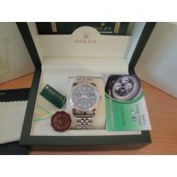 Rolex replica datejust acciaio full brillantini jubilèè orologio replica copia