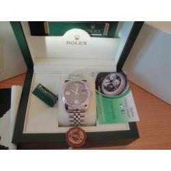 Rolex replica datejust acciaio full brillantini flower jubilèè orologio replica copia