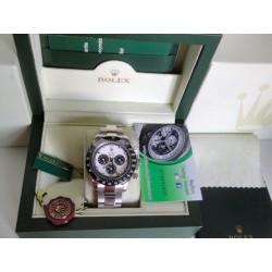 Rolex replica daytona new paul newman ceramichon white dial orologio replica copia