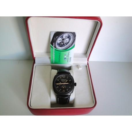 Panerai replica radiomir 10 days PVD pro-hunter ceramic strip leather orologio replica copia