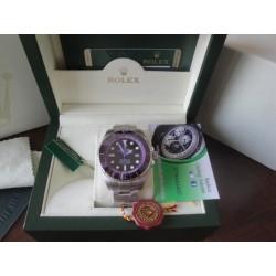 Rolex replica deepsea seadweller 44mm colors viola orologio replica copia