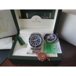 Rolex replica deepsea seadweller 44mm black dial orologio replica copia