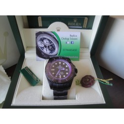 Rolex replica deepsea seadweller 44mm colors pro-hunter violet orologio replica copia