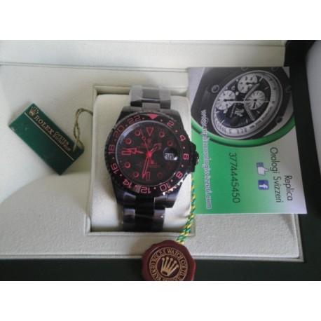 Rolex replica GMT master II ceramichon bamford limited edition pro-hunter pvd orologio replica copia