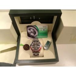 Rolex replica GMT master II classic rosso nero orologio replica copia