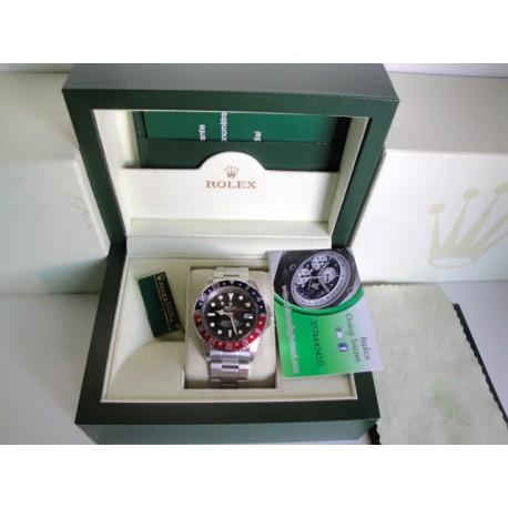 Rolex replica GMT master II vintage plexi pepsi orologio replica copia