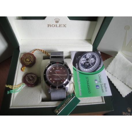 Rolex replica milgauss vintage cordura grey orologio replica copia