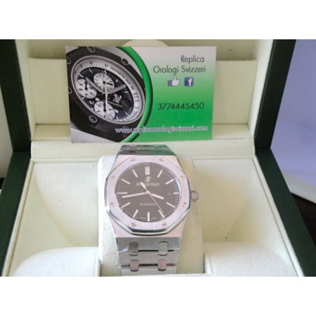 Audemars Piguet replica royal oak jumbo black dial ologio replica copia