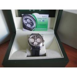Omega replica speedmaster racing black strip rubber orologio replica copia