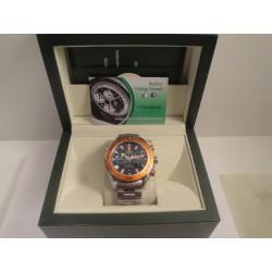 Omega replica seamaster co-axial orange chrono 007 orologio replica copia