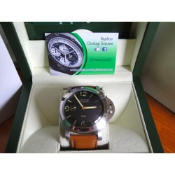 Panerai replica luminor marina 1950 classic strip leather orologio replica copia