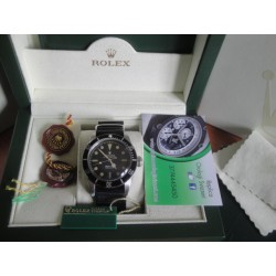 Rolex replica submariner vintage cordura 200mt black dial orologio replica copia