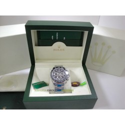 Rolex replica daytona new ceramichon black dial orologio replica copia