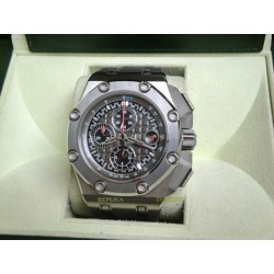 Audemars Piguet replica royal oak offshore michael schumacher titanium grey bezel chrono orologio replica copia