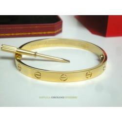Cartier replica love bracciale oro giallo imitazione perfetta