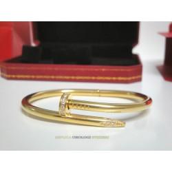 Cartier replica just on clue bracciale oro giallo imitazione perfetta