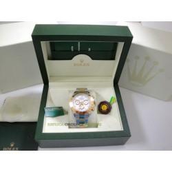 Rolex replica daytona acciaio oro white dial orologio replica copia