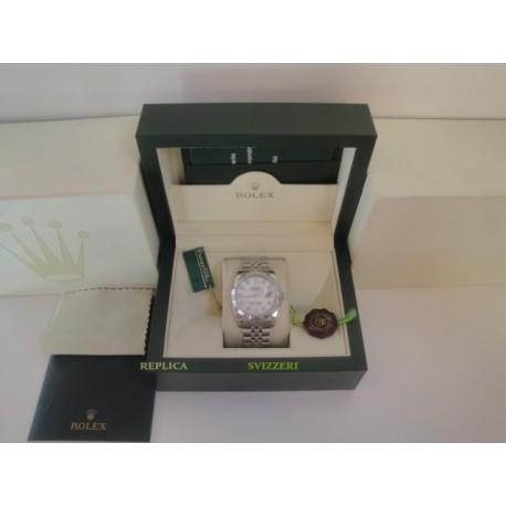 Rolex replica datejust acciaio madreperla brillantini jubilèè orologio replica copia