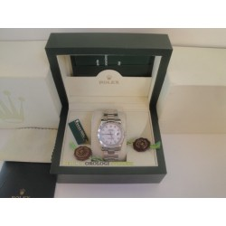 Rolex replica datejust acciaio white brillantini oyster orologio replica copia