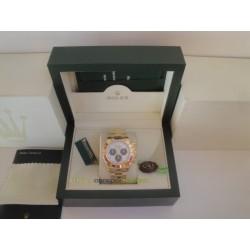 Rolex replica daytona oro giallo dial panda orologio replica copia