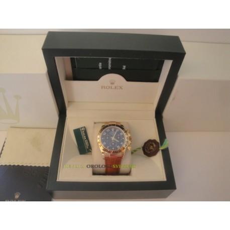 Rolex replica daytona 116509 vip strip leather orologio replica copia