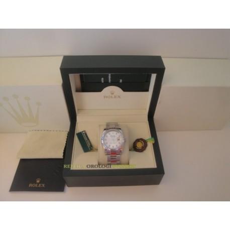 Rolex replica datejust acciaio madreperla brillantini oyster orologio replica copia