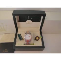 Rolex replica datejust acciaio oro madreperla brillantini oyster orologio replica copia