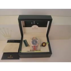 Rolex replica datejust acciaio oro black brillantini oyster orologio replica copia