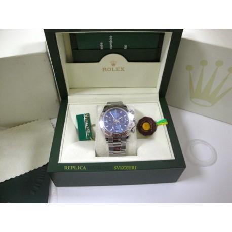 Rolex replica daytona new oro bianco blue dial 2016 orologio replica copia