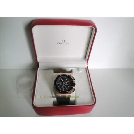 Audemars Piguet replica royal oak offshore rose gold black dial chrono orologio replica copia